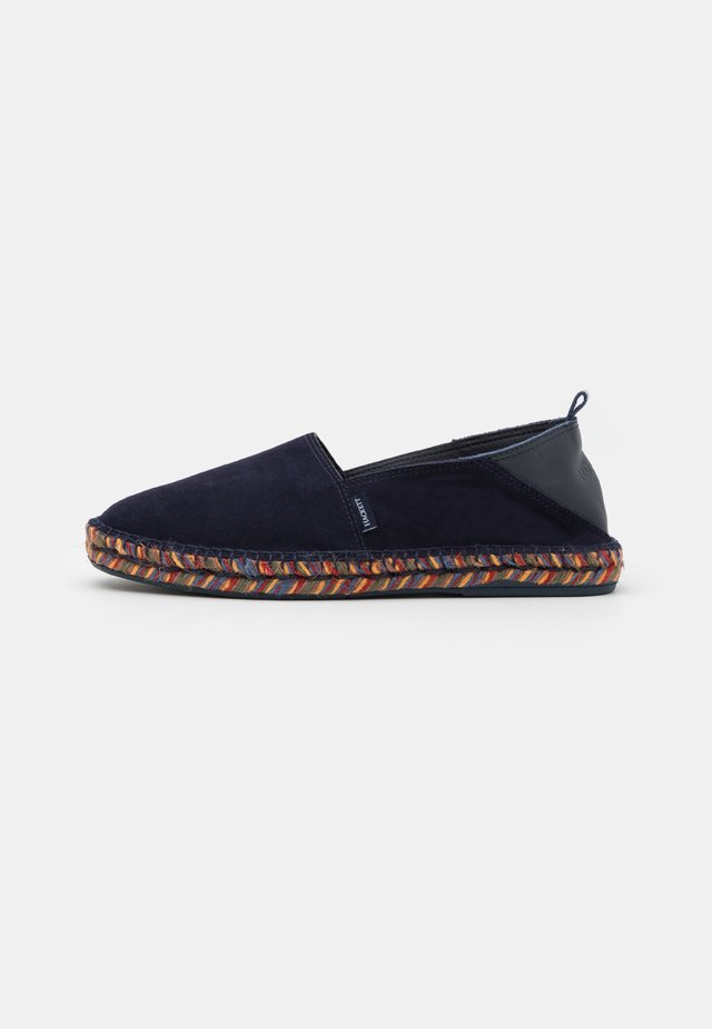 SLIPON - Alpargatas - navy