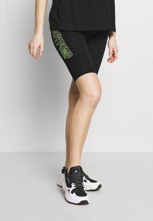 MATERNITY SPORT LEGGING FLUOR DETAILS - Shorts - black