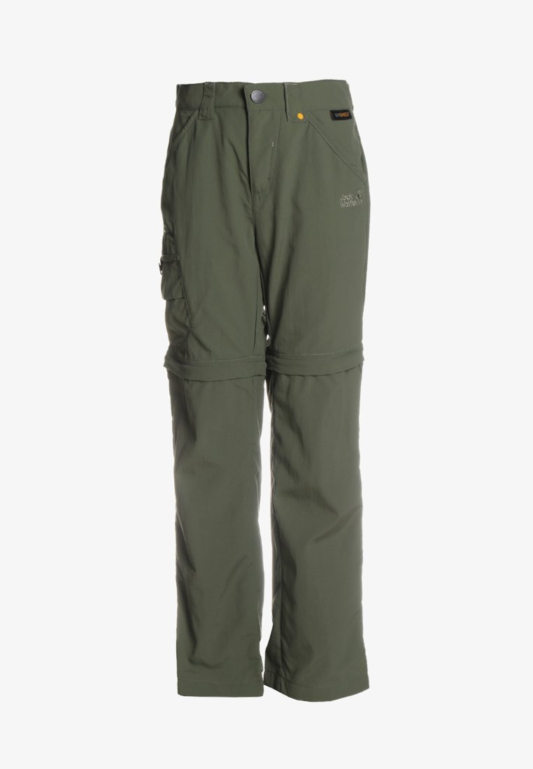 Jack Wolfskin - SAFARI ZIP OFF PANTS 2-IN-1 - Outdoor trousers - woodland green