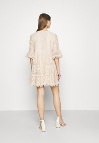 River Island - LUXE SMOCK - Cocktail dress / Party dress - offwhite - 2