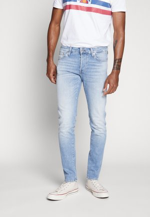 JJIGLENN JJICON - Jeansy Slim Fit - blue denim