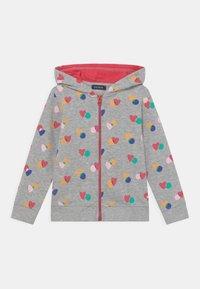 Blue Seven - KIDS GIRLS  - Zip-up sweatshirt - nebel melange - 0