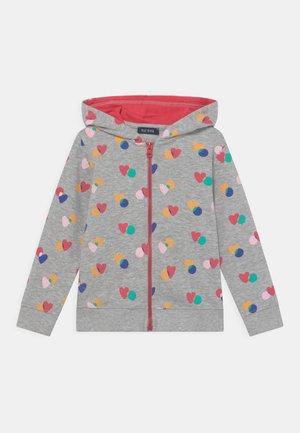 KIDS GIRLS  - Zip-up sweatshirt - nebel melange