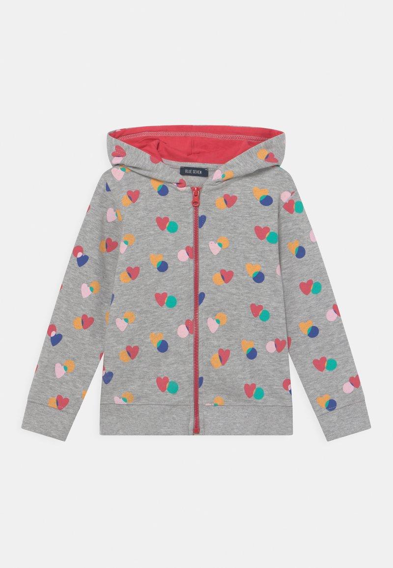 Blue Seven - KIDS GIRLS  - Zip-up sweatshirt - nebel melange