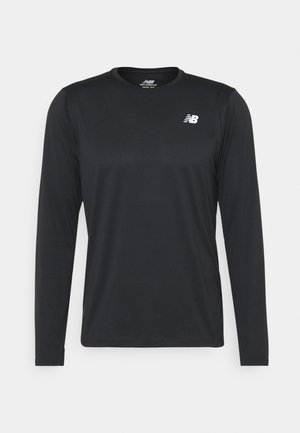 ACCELERATE LONG SLEEVE - Long sleeved top - black