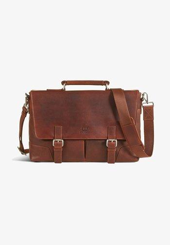JAMES - Laptop bag - brown