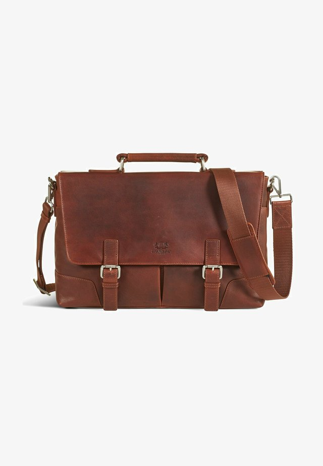 JAMES - Borsa porta PC - brown