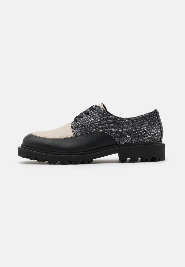 SLFDANI DERBY SHOE  - Lace-ups - black