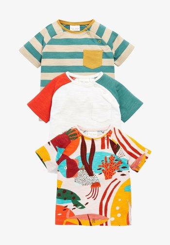 3 PACK - Print T-shirt - orange