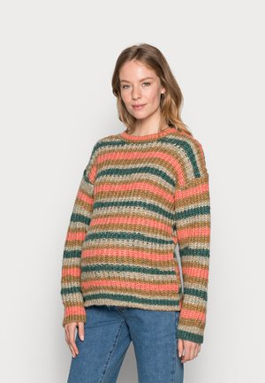MLORA - Jumper - snow white/multicolor