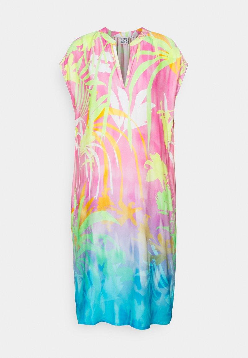 Emily van den Bergh - Day dress - pink/turquoise
