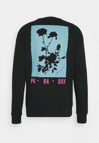Jack & Jones PREMIUM - JPRBLA PARADOX CREW NECK - Sweatshirt - black - 8