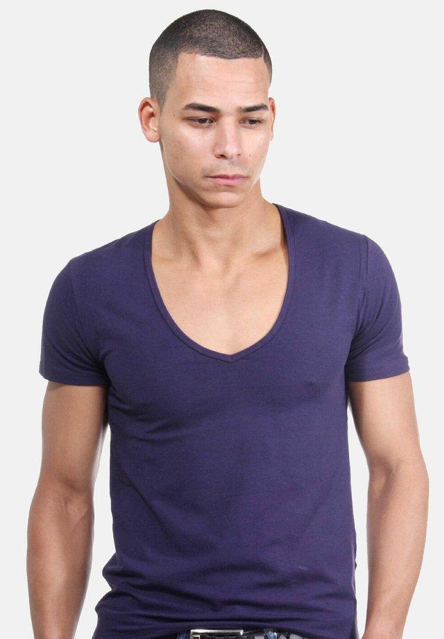 T-shirt - bas - lila