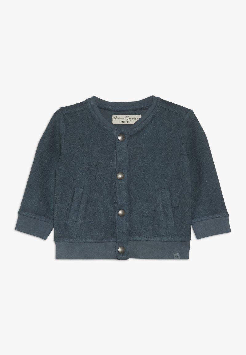 Smitten Organic - CARDIGAN BABY - Mikina na zip - orion blue