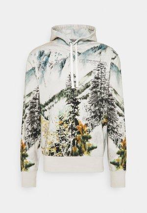 LANDSCAPE HOODIE - Sweater - ecru