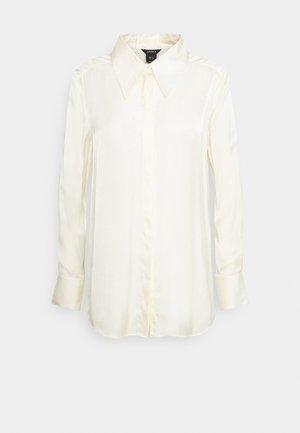 BLOUSE MONIKA - Button-down blouse - beige
