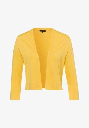 CARDIGAN - Cardigan - gelb