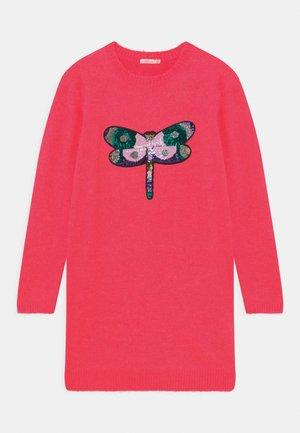 DRESS - Jumper dress - rose fluo