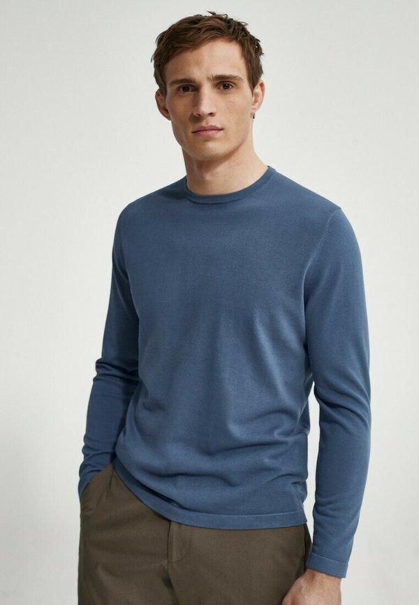 Massimo Dutti Bluza - blue/niebieski Odzież Męska QSYC