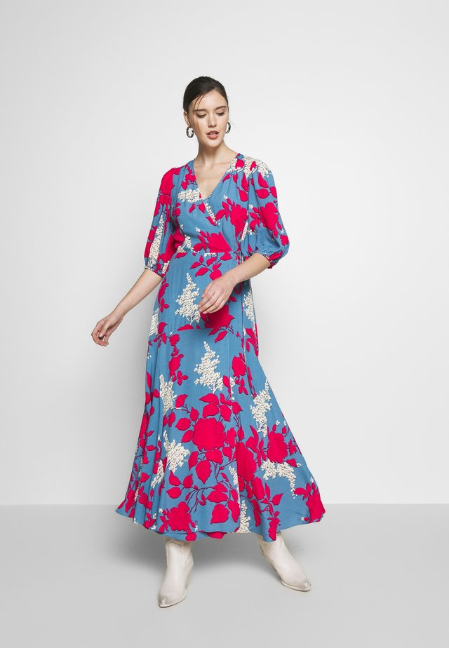 WRAP DRESS - Maxi dress - blue heaven