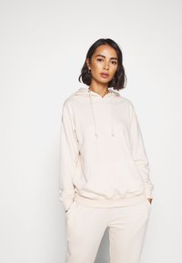 Missguided Petite - HOODIE AND JOGGER SET - Tracksuit - stone - 3