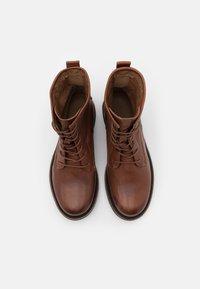 Shabbies Amsterdam - Lace-up ankle boots - cognac - 5