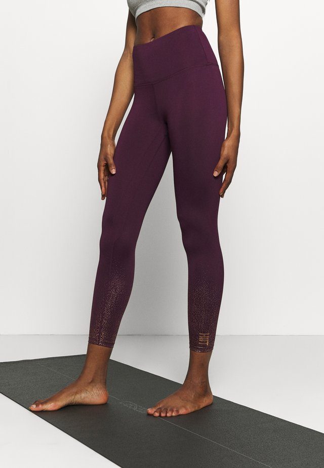FOIL FADE PRINT LEGGING - Collant - purple