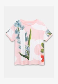 Desigual - TURIN - Print T-shirt - red - 0