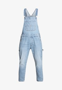 Tommy Jeans - DUNGAREE - Latzhose - light-blue denim - 6