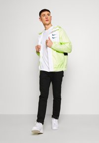 Nike Sportswear - Summer jacket - barely volt/white/blue force - 1