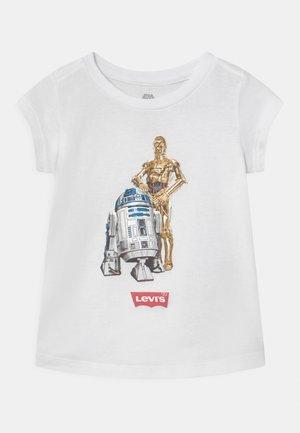 STAR WARS DROID  - T-shirt imprimé - white