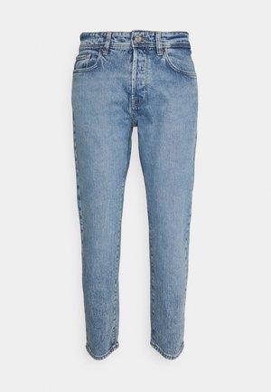 SLHRELAXCROP - Zúžené džíny - light blue denim