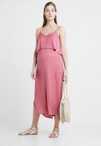 Ripe - NURSING SLIP DRESS - Denní šaty - rose - 1