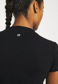 Cotton On Body - SIDE GATHERED - Camiseta básica - black - 4