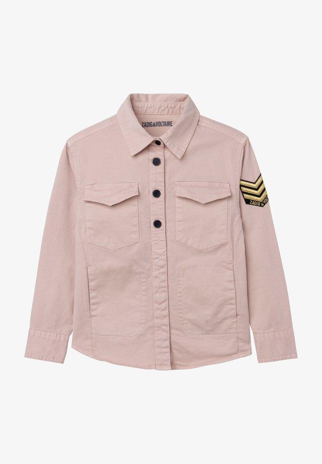 Overhemdblouse - faded pink