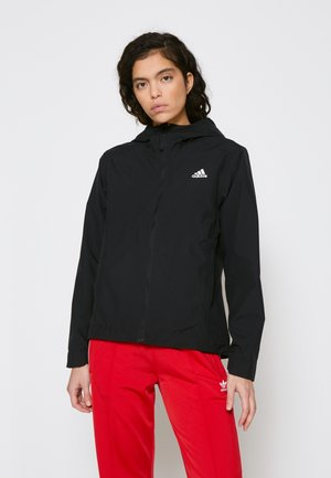 BSC 3-STRIPES RAIN.RDY - Summer jacket - black