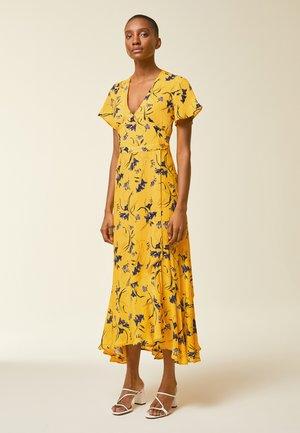 Maxi-jurk - sun yellow