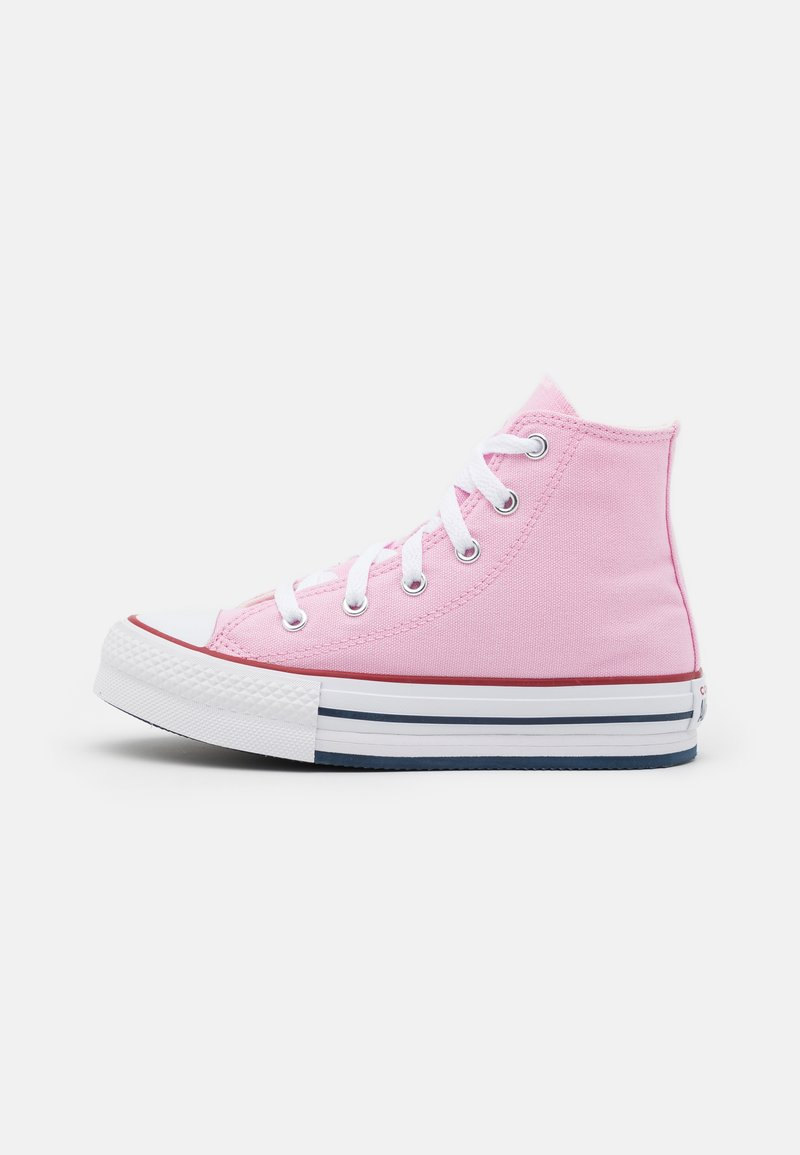 Converse - CHUCK TAYLOR ALL STAR EVA LIFT - High-top trainers - pink glaze/white