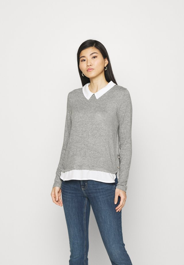 Svetr - medium grey