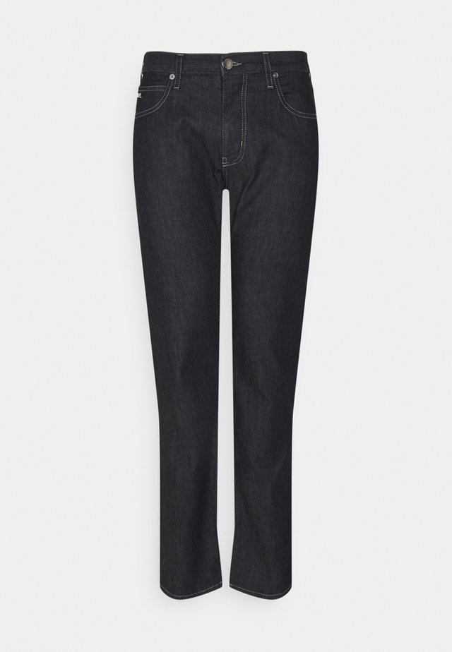 POCKETS PANT - Jeans a sigaretta - blue navy