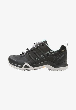 TERREX SWIFT R2 GORE-TEX - Hiking shoes - core black/ash green
