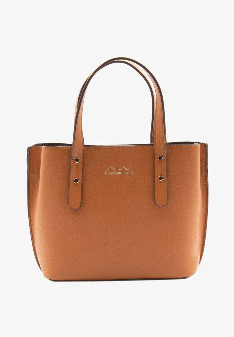 ALV by Alviero Martini - Handbag - cognac
