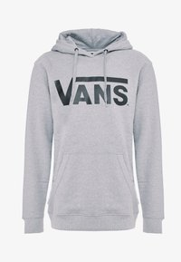 Vans - Bluza z kapturem - cement heather/black - 3