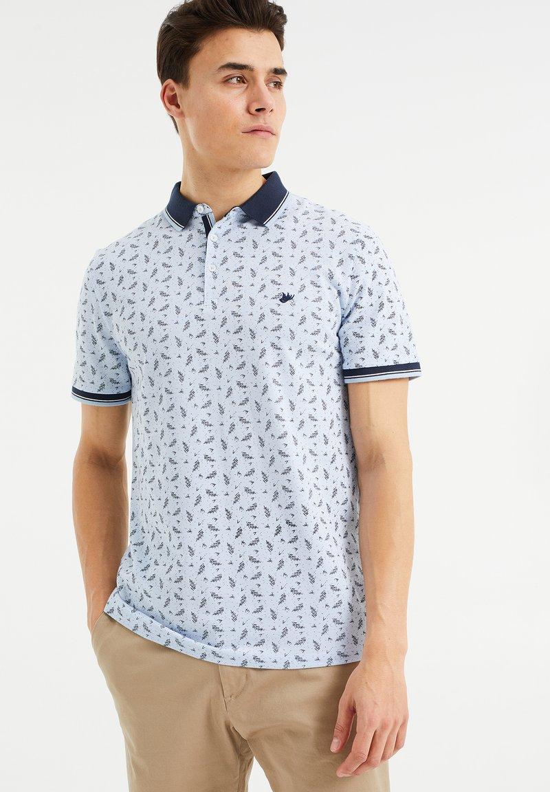 WE Fashion - Poloshirt - light blue