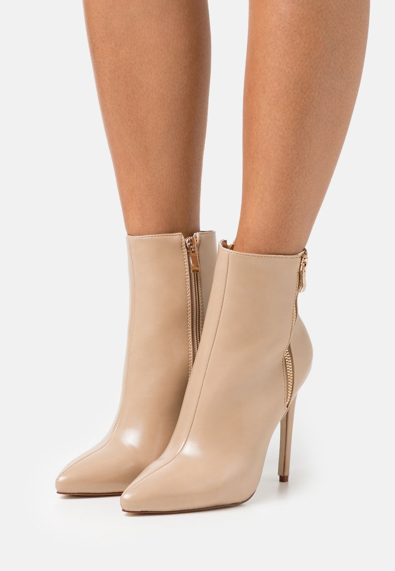 BEBO - ROOKY - Classic ankle boots - nude