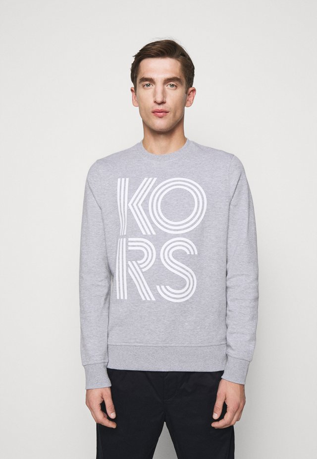 LINEAR LOGO  - Sweatshirt - heather grey