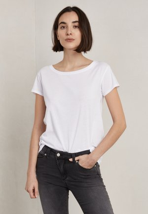 T-shirt basic - frosty chalk