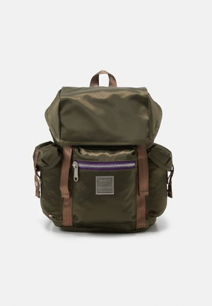 SABRINA UNISEX - Rucksack - dark green/purple