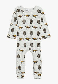 Tobias & The Bear - BABY THE FOX AND THE BEAR LONG ROMPER - Pyjamas - pale stone - 0
