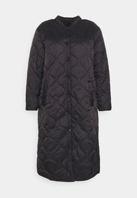 Vero Moda Curve - VMBRIDGETDOLLY LONG JACKET - Classic coat - black - 3